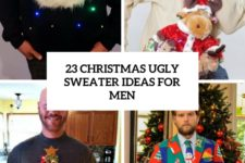 23 christmas ugly sweater ideas for men cover