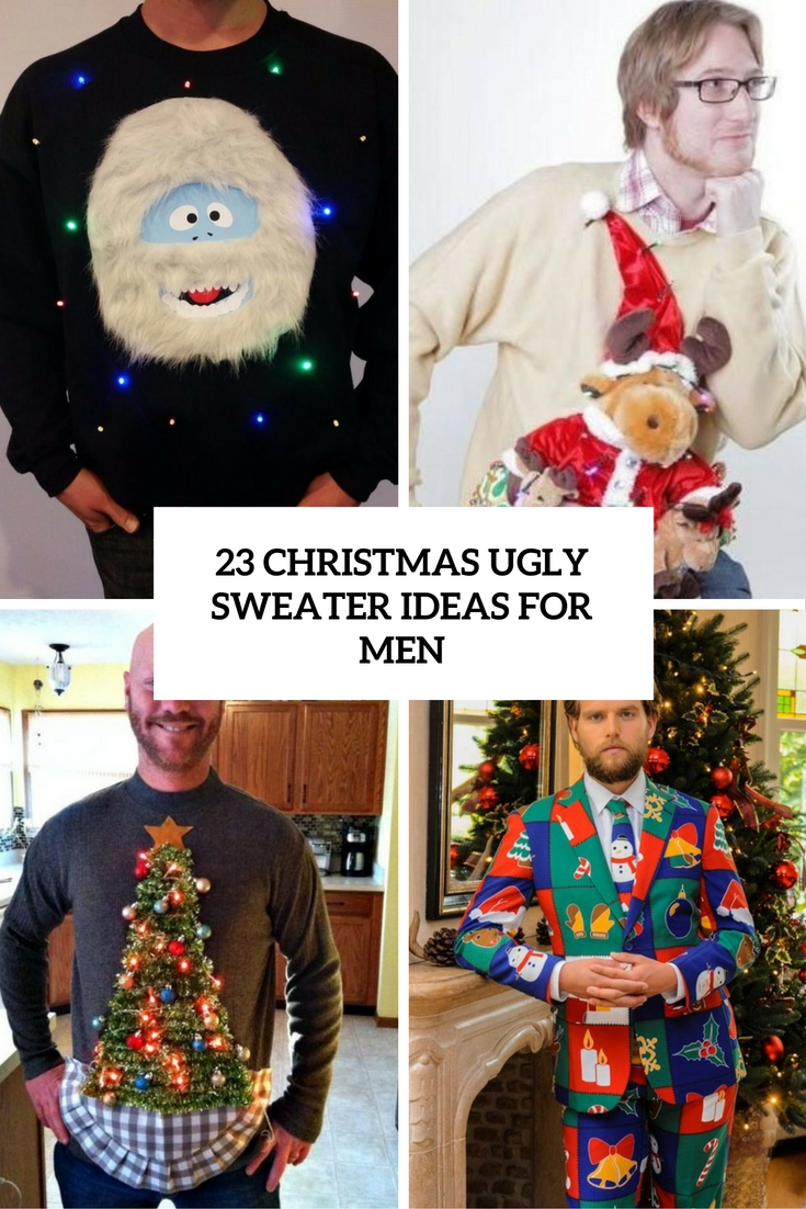 Christmas Ideas For Men.23 Christmas Ugly Sweater Ideas For Men Styleoholic