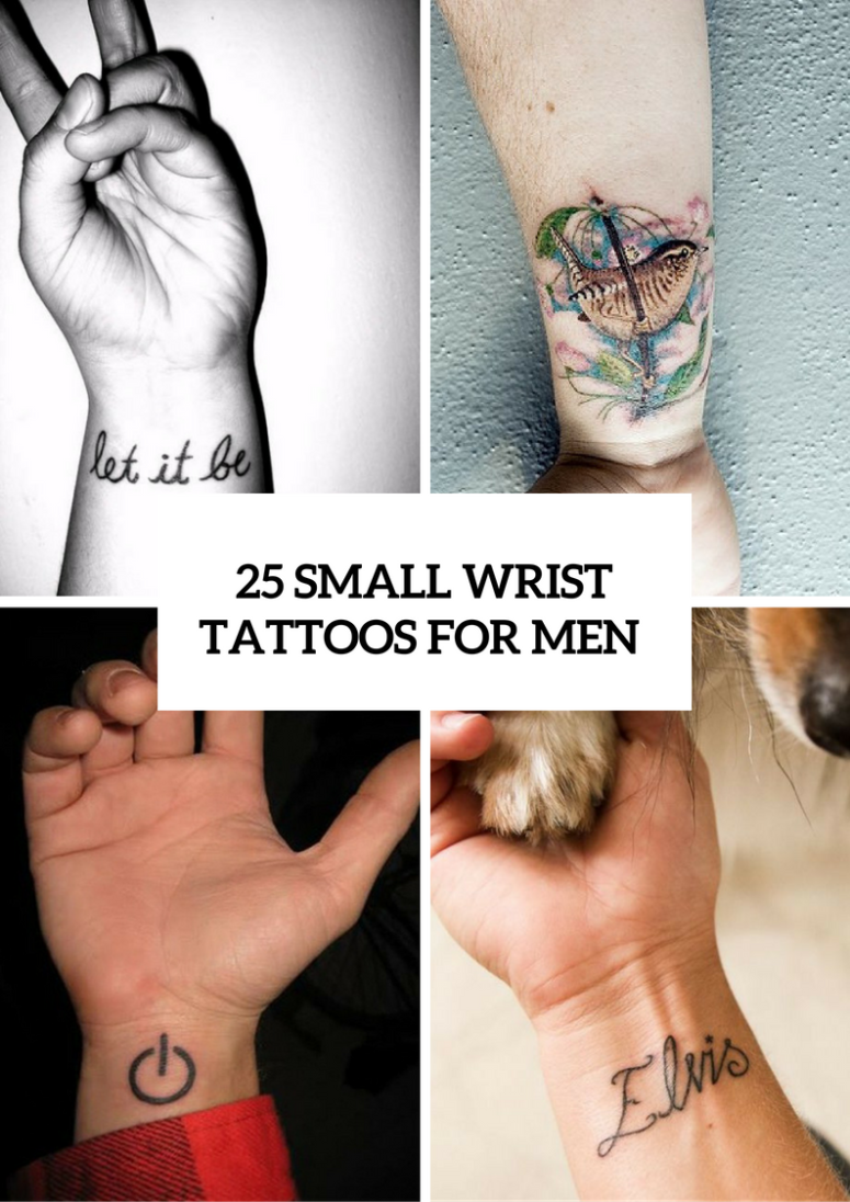 25 Awesome Small Wrist Tattoo Ideas For Men Styleoholic