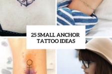 25 Excellent Small Anchor Tattoo Ideas