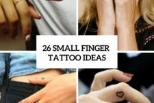 26 Amazing Small Finger Women Tattoo Ideas
