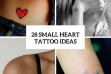28 Cute Small Heart Tattoo Ideas