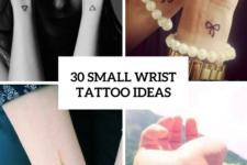 30 Cool Small Wrist Tattoo Ideas For Women
