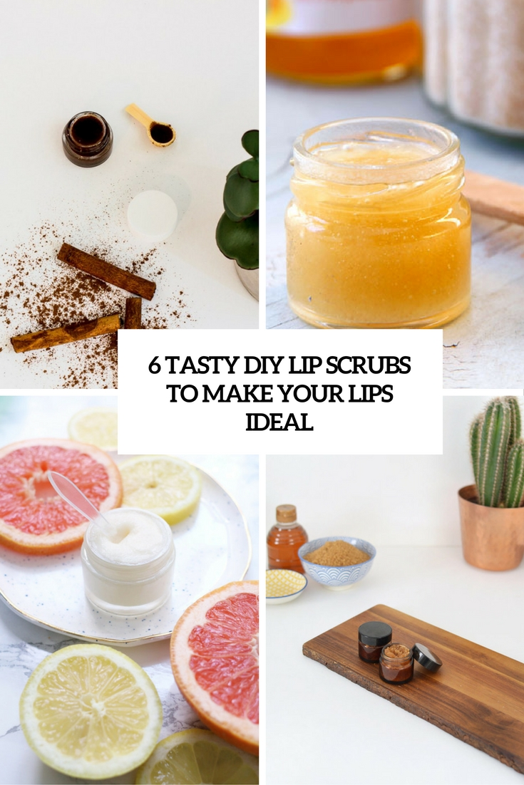 6 Tasty DIY Lip Scrubs To Make Your Lips Ideal