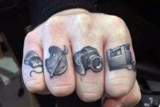 Art inspired tattoos