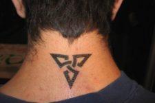 Cool tattoo idea for a neck