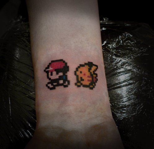 Funny video game tattoos