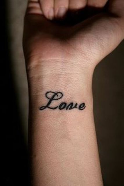 Love tattoo idea