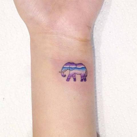 22 Amazing Small Elephant Women Tattoo Ideas Styleoholic