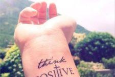 Two words tattoo idea