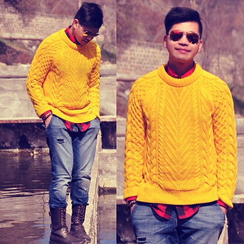 23 Cozy Cable Knit Sweater Outfits For Men Styleoholic
