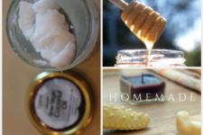 DIY natural hair conditioning mask coconut honey mask