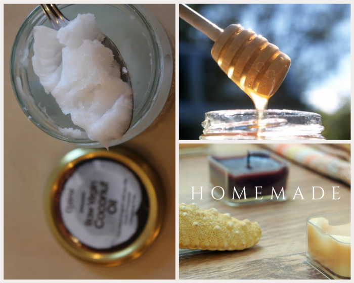 DIY natural hair conditioning mask coconut honey mask (via https:)