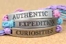 DIY colorful hemp friendship bracelets