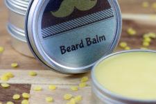 DIY cedarwood beard balm