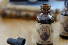 DIy beard oil recipe with stylish printables