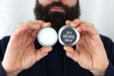 DIY rich beard balm