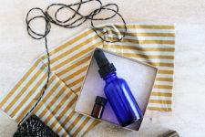 DIY beard oil gift