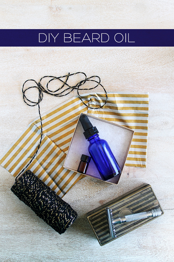DIY beard oil gift (via squirrellyminds.com)