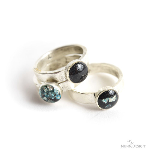 DIY resin stacking rings (via www.nunndesign.com)