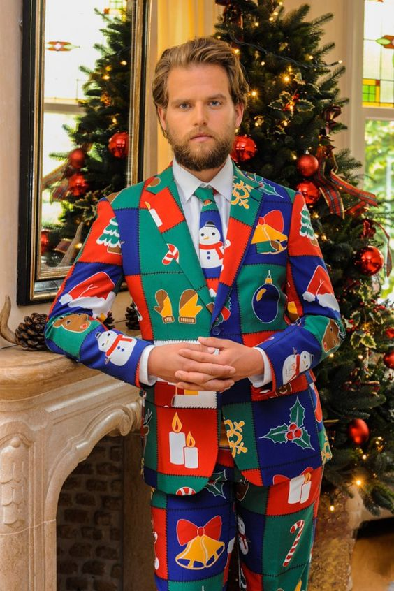 Shinesty Christmas Suits.Picture Of Why Wear An Ugly Sweater When You Can Rock An