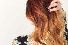 04 red and copper balayage idea for medium hair