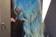 05 pastel ombre blue long hair