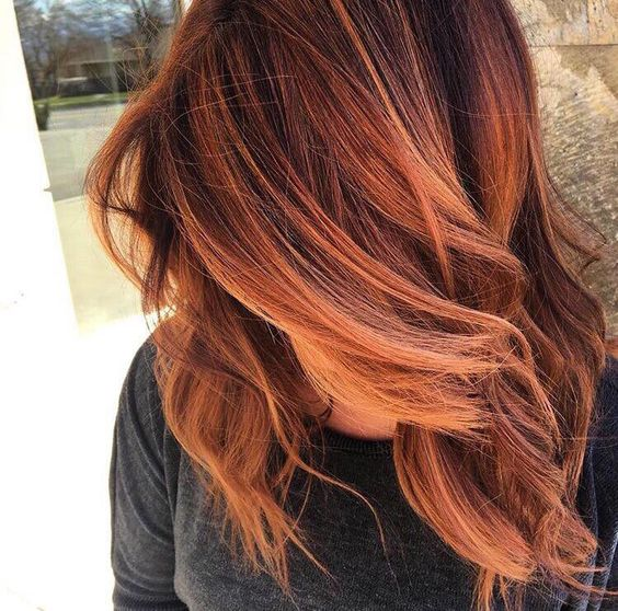 20 best balayage ideas for red and copper hair styleoholic red hair with light highlights pmusecretfo Choice Image