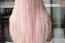13 cutest blush straight hair
