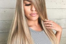 14 dark blonde with sandy highlights to create a dimension