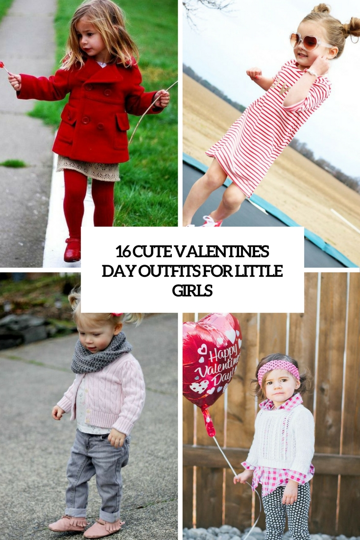 16 Cute Valentineu2019s Day Outfits For Little Girls u2013 OBSiGeN