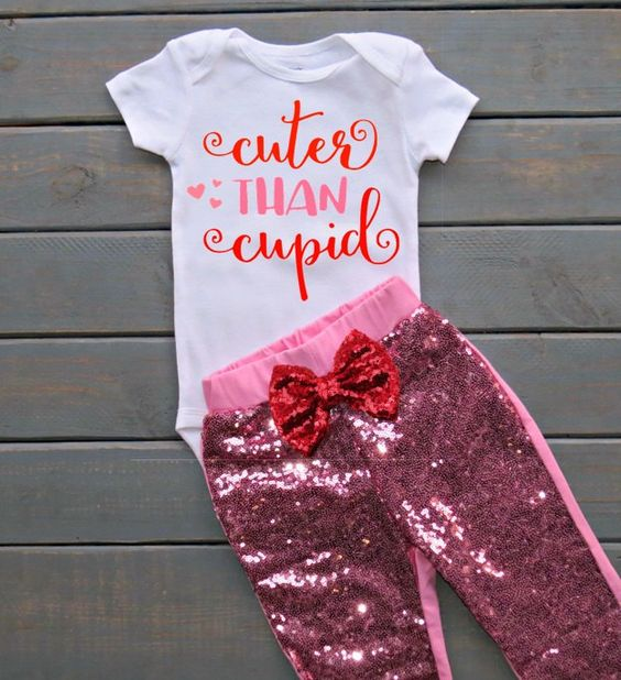 pink sequin pants, a printed white tee is perfection