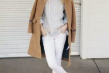 cable knit sweater winter outfit