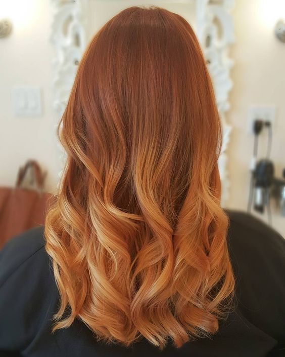 20 Best Balayage Ideas For Red And Copper Hair Styleoholic