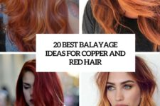 20 best balayage ideas for red and copper hair cover