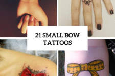 21 Small Bow Tattoo Ideas To Repeat