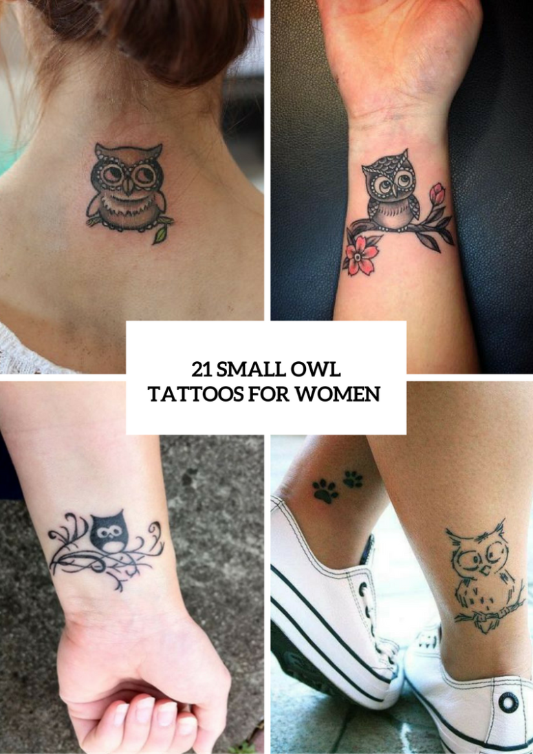 21 Small Owl Tattoo Ideas For Women