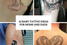 22 Baby Tattoo Ideas For Moms And Dads
