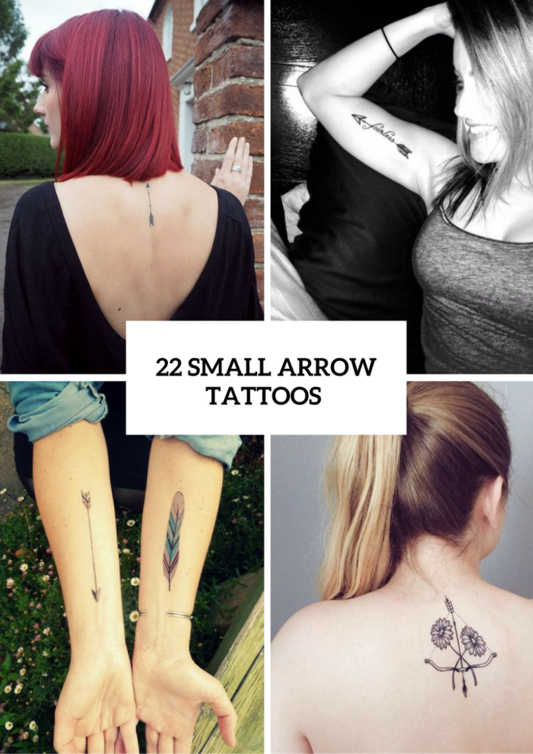 22 Small Arrow Tattoo Ideas For Women
