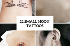 22 Small Moon Tattoo Ideas For Ladies