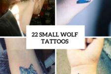 22 Small Wolf Women Tattoo Ideas