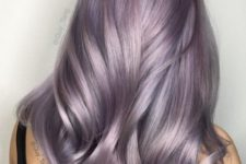 22 smoky lilac shade looks really unusual and soft