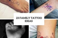 23 Family Tattoo Ideas For Ladies