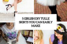 5 girlish diy tulle skirts you can easily make cover