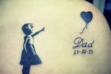 Baby tattoo for dad