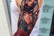 Barber tattoo idea