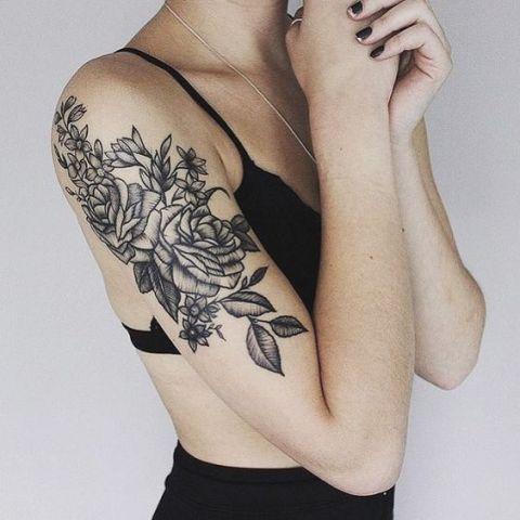 Elegant tattoo idea