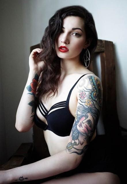23 Half Sleeve Tattoos For Women Obsigen