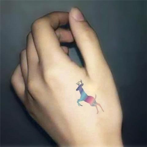 Gorgeous deer tattoo idea