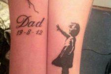 Memorial tattoo idea